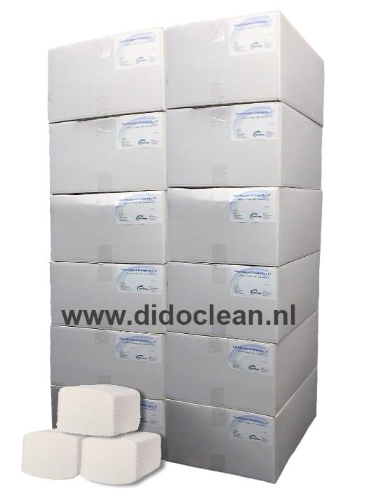 12 Dozen Handdoekjes Z-vouw cellulose 2 lgs 24 x 21 cm