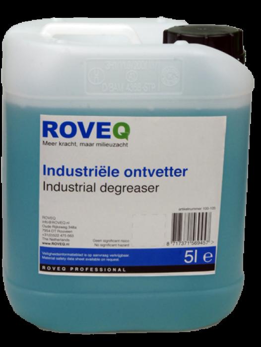 ROVEQ Industriële ontvetter geconcentreerd 5 liter
