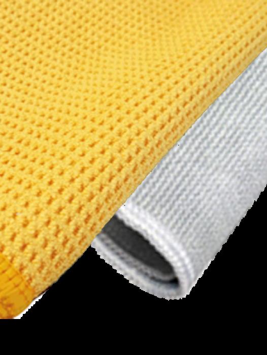 Microvezel droogdoek + schoonmaakdoek (set)
