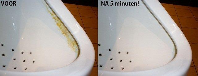Wc stinkt na schoonmaken