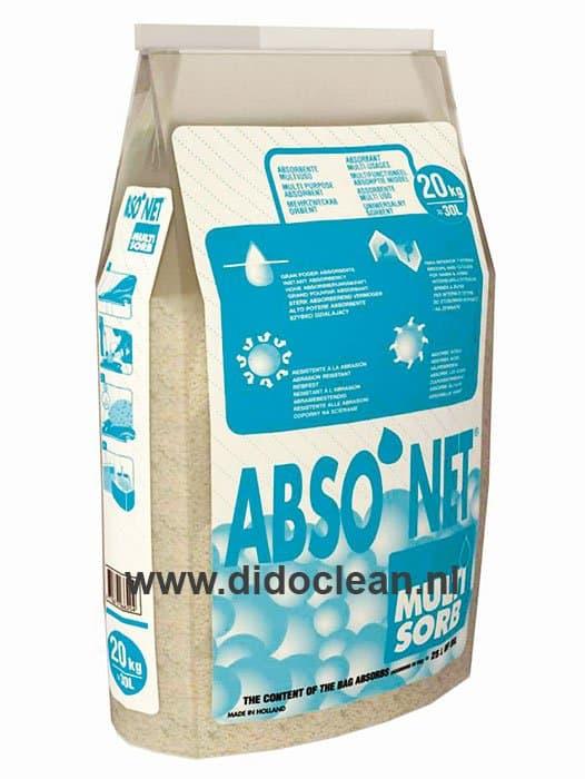 Absorptiekorrel Multi Sorb Calamiteitenkorrels 30 liter
