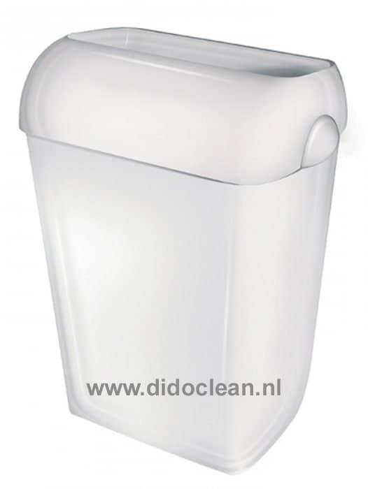 Afvalbak 42 liter wit ABS kunststof