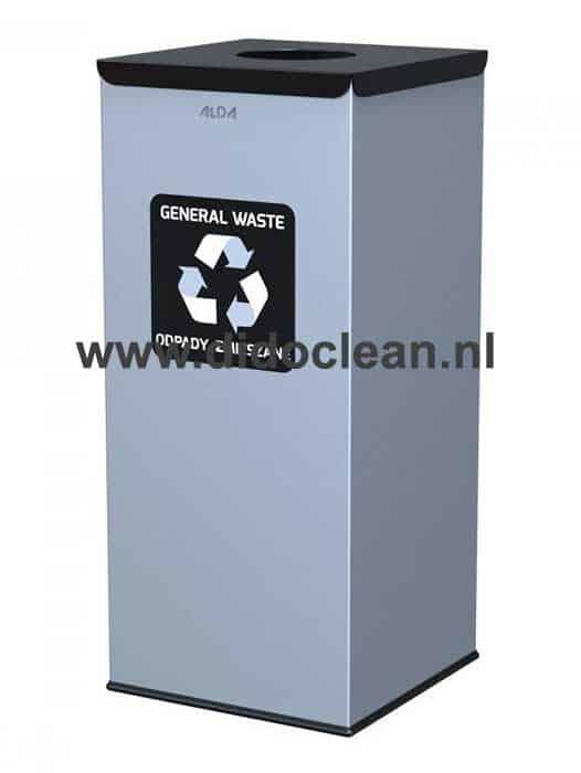 Afvalbak 60 liter Afvalscheiding Recycling Zwart