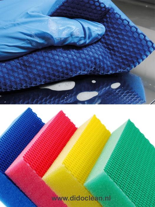 Color Clean HACCP krasvrije sponzen