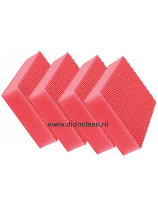 Color Clean HACCP krasvrije sponzen Rood