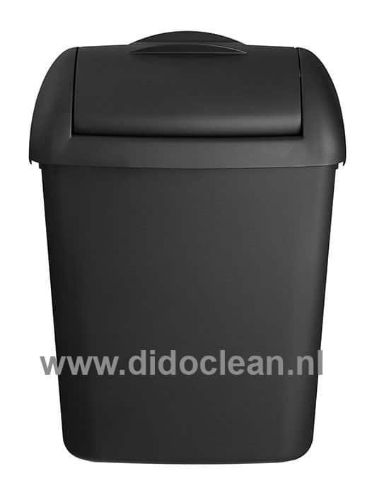 Dames Mini Hygienebak zwart 8 liter