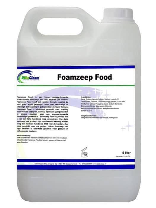 DiDoClean Foamzeep Food 5L