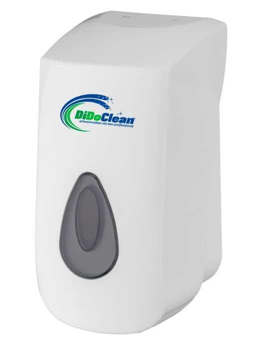 DiDoClean Foamzeepdispenser navulbaar 400ml kunststof wit