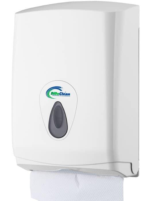 DiDoClean Handdoekdispenser inclusief handdoekjes