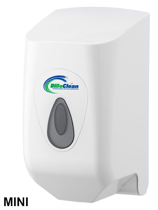 DiDoClean MINI Handdoekrol dispenser inclusief 2 handdoekrollen