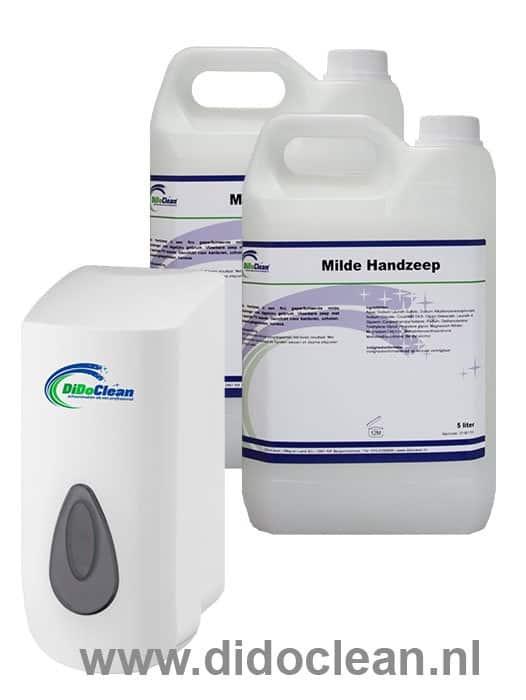 DiDoClean Zeepdispenser 900 ml met 10 liter handzeep