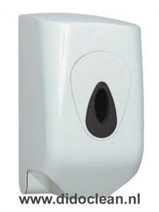 Dispenser MINI handdoekrol wit kunststof