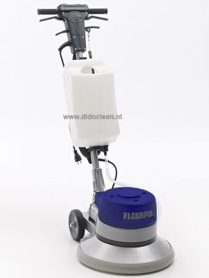 Eenschijfsmachine Floorpul FLP 154 TSN met tank 17 inch 180 en 400 toeren