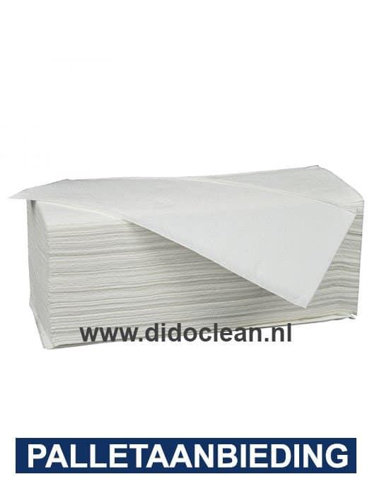 Handdoekjes BUDGET Cellulose 2-laags 21x24cm