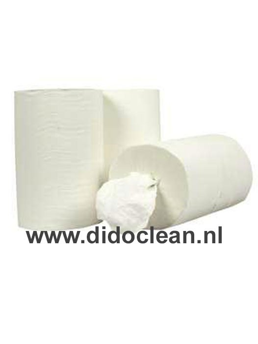 Handdoekrol Poetsrol MINI Coreless Cellulose 12 stuks