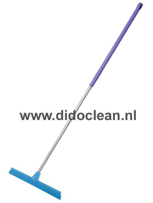 Hillbrush HACCP vloertrekker enkelblad met steel