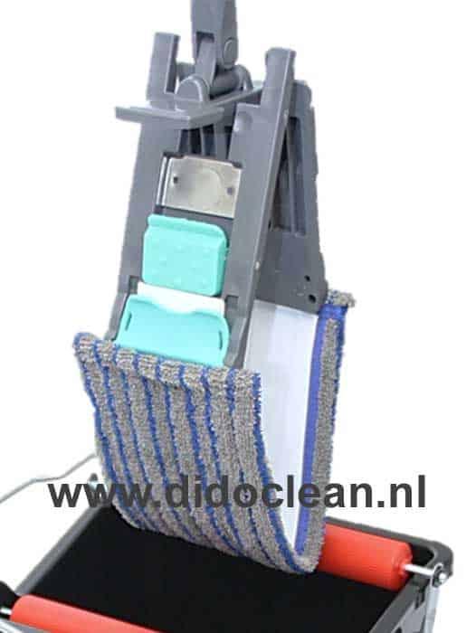 Klemframe set inclusief vlakmop en ergonomische telescoopsteel