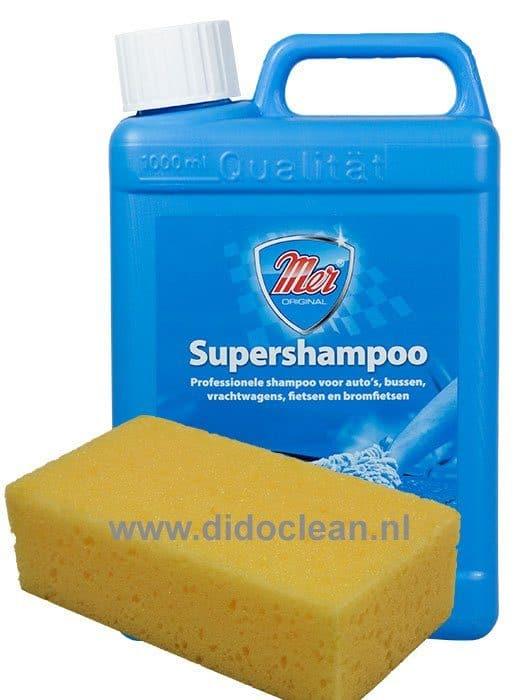Mer Supershampoo + gratis spons