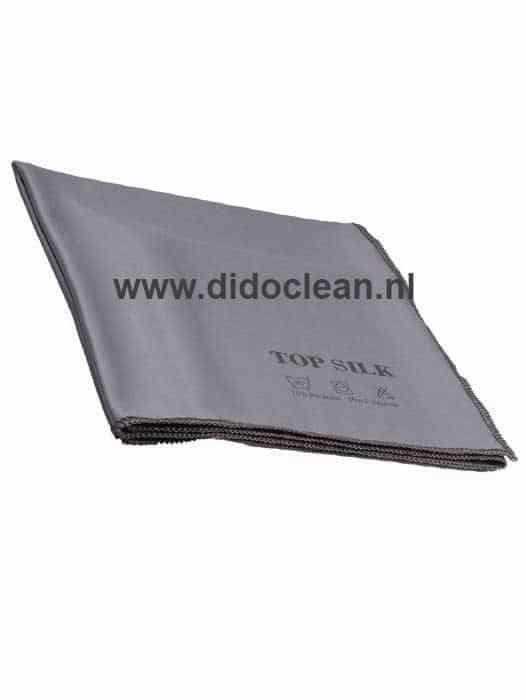 Microvezel glasdoek Top Silk Grijs 50 x 70 cm