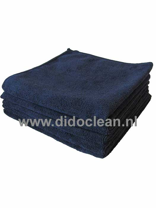 Microvezel reinigingsdoek Zwart 40x40cm