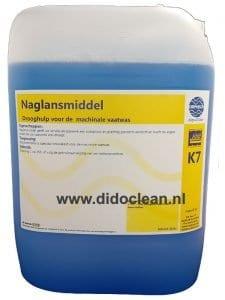 Naglansmiddel Naspoelmiddel machinale vaatwas 10L