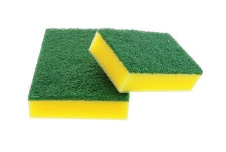Schuurspons groen schuurvlak 10 stuks