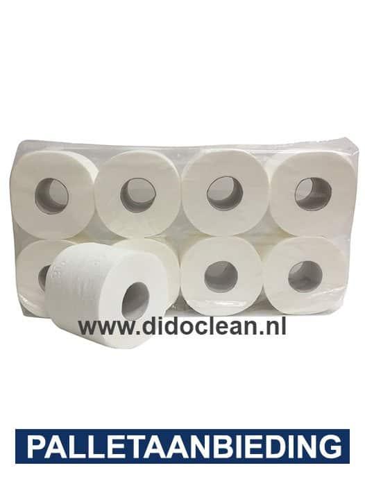 Toiletpapier BUDGET Cellulose 3-laags 64 rollen