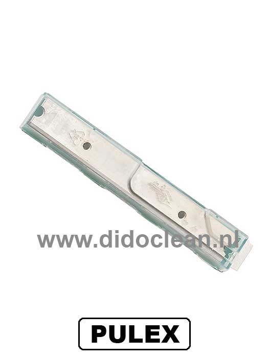 Vervangmesjes PULEX Techno-Scrap Ruitenschraper 10cm