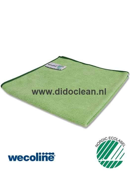 WECOLINE microvezel reinigingsdoek 40x40 cm groen