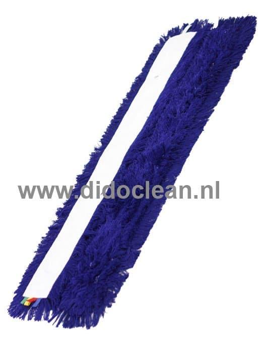 Zwabberhoes Acryl 60 cm met drukknopen blauw