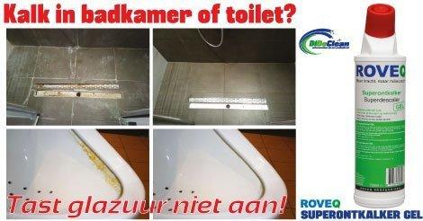 Last van kalk in de badkamer? - DiDoClean.nl