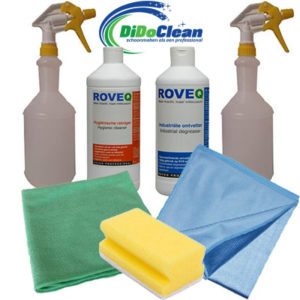 ROVEQ kennismakingsset professionele schoonmaakmiddelen